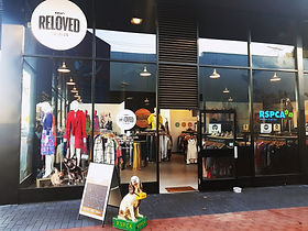 Reloved Fashion North Perth store front