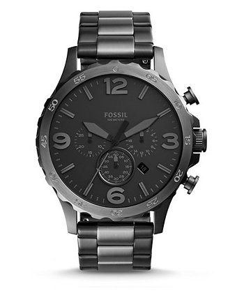 FOSSIL Nate Black Two-Tone JR1527
