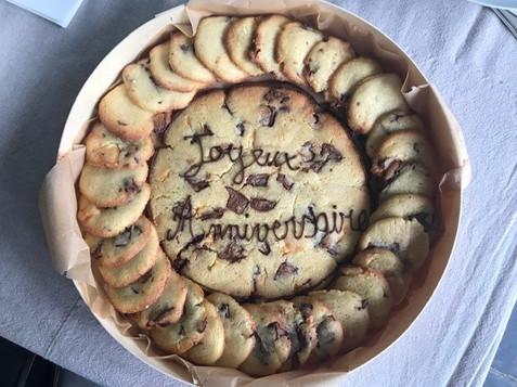 Cookies d'anniversaire