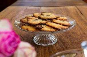 Assiette de cookies