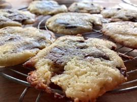 Cookies fraichement sortis du four