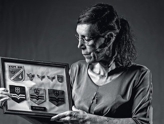 The story of the first trans woman in Brazil's Armed Forces