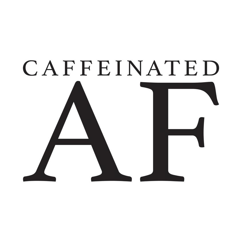 Caffeinated AF (White)