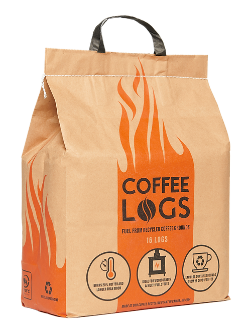 Coffee Logs x 2 bags