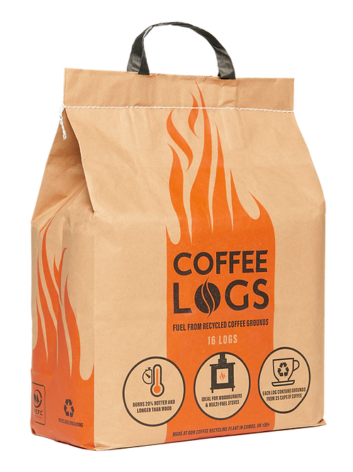 Coffee Logs x1 bag