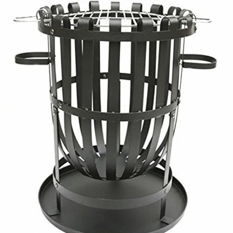 Fire Basket With Grill
