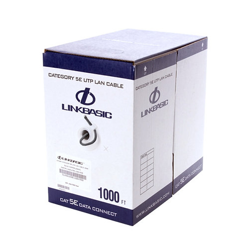 Linkbasic, CAT5E UTP Outdoor Solid Cable, 305m Box