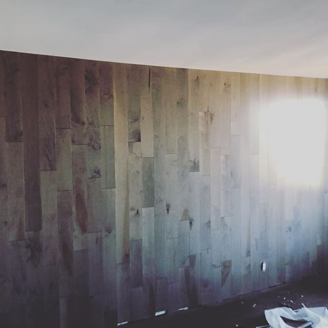 Turned this boring master bedroom wall i