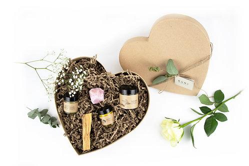 Vegan Heart Shaped Pamper Box