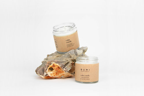 Calm Candle : Lavender & Sage