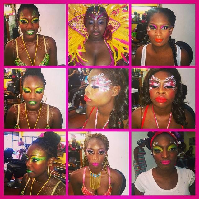 Instagram - #dianamargulies#carnivalmakeup #labordayweekend #lotoffun #5am #colo