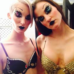 Instagram - Last fashion show #nyfw#babydoll#jasonchristopherpeters #drawnbeauty
