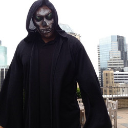 Instagram - What would u say if u see this guy on the street??? Halloween trial
