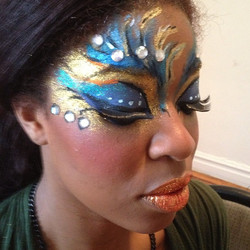 Instagram - Carnival makeup