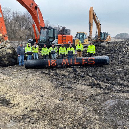 Jackson County Ditch 3 Project - 2020