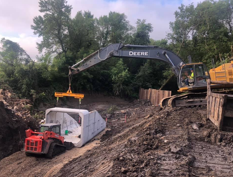 Blue Earth County Box Culvert - 2019