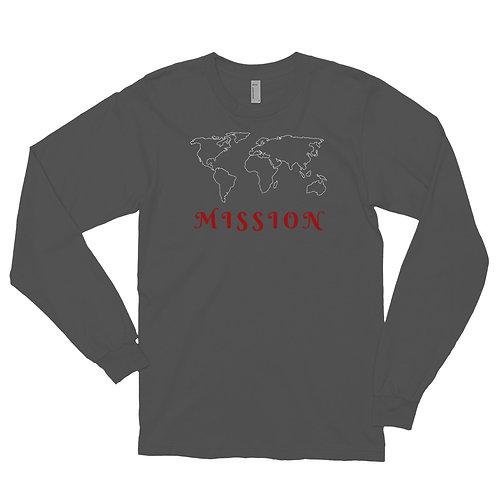 Long sleeve t-shirt - World Mission