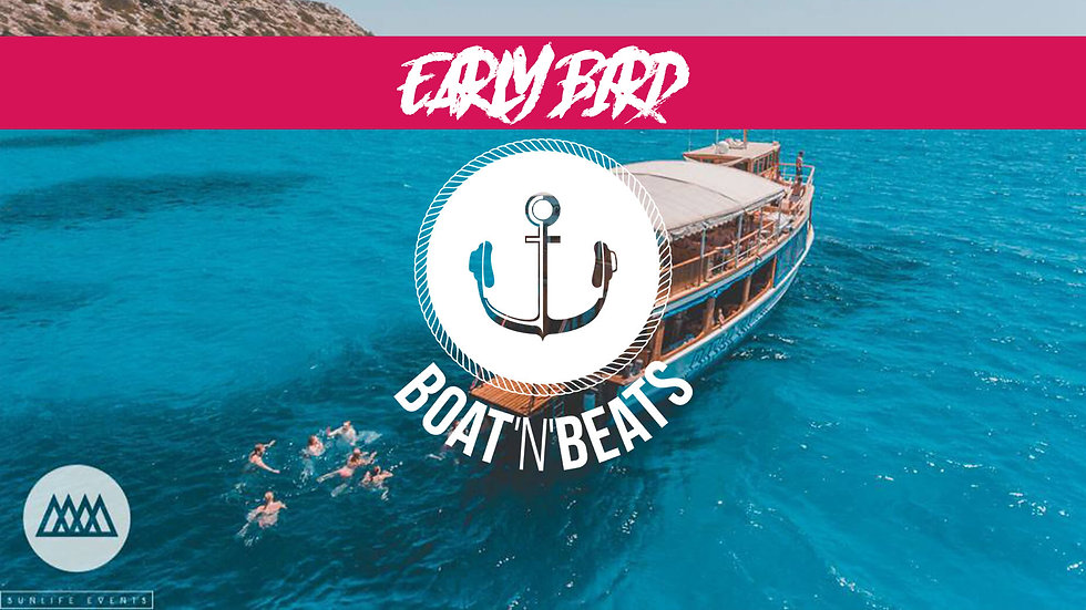 Boat`N`Beats Partyboot (April 2021)