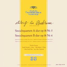 DGG_Beethoven_Quartett op18 5+6_Koeckert