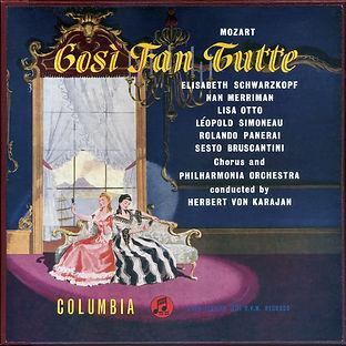 Columbia_Così fan tuttre_Karajan Cover.