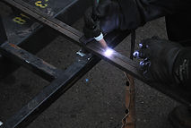 Superior welding for loading dock equipment.