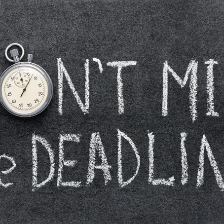 IRA Deadlines Are Approaching