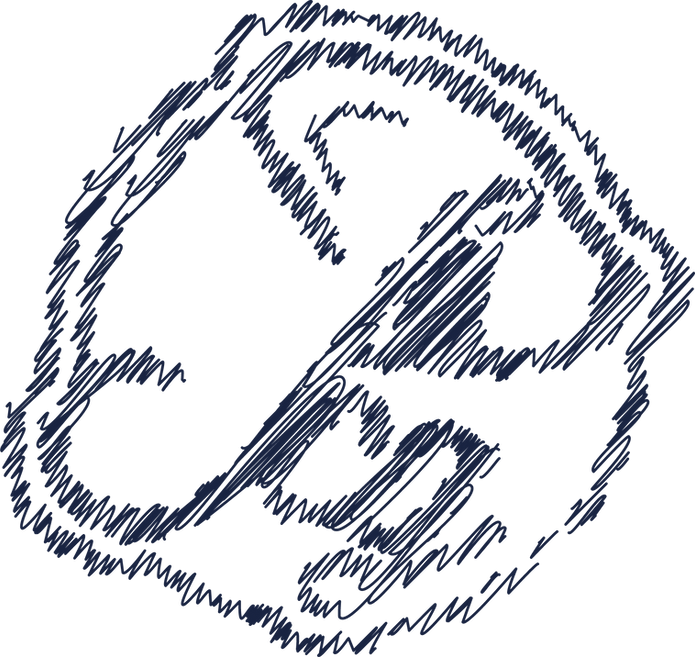 pixel communication graphique logo scrib