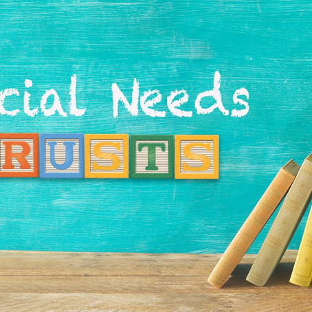 Ways to Fund Special Needs Trusts