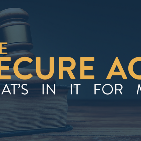 Are You Ready for the Second Act of the S.E.C.U.R.E. Act?