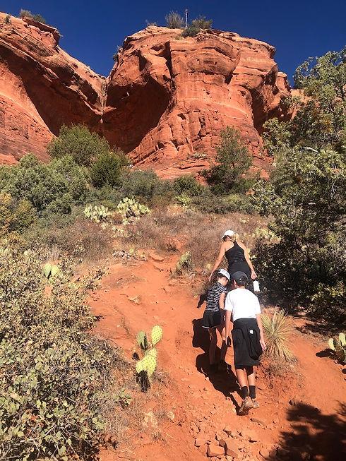 Sedona Hikes - up to Birthing Cave.jpg