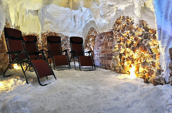 Pobyt v soľnej jaskyni