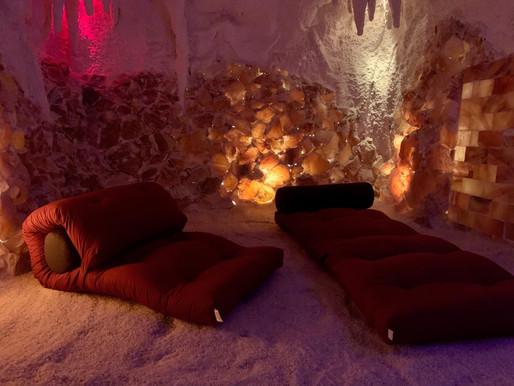 Nočný pobyt v soľnej jaskyni
