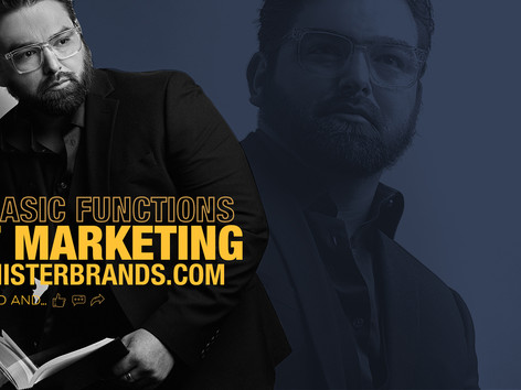 7 Basic Functions Of Marketing