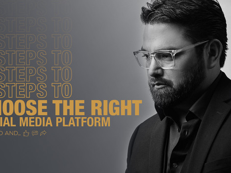 4 steps to choose the right social media platform.