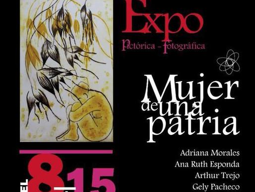 Exposición Pictórica fotográfica: Mujer de una patria