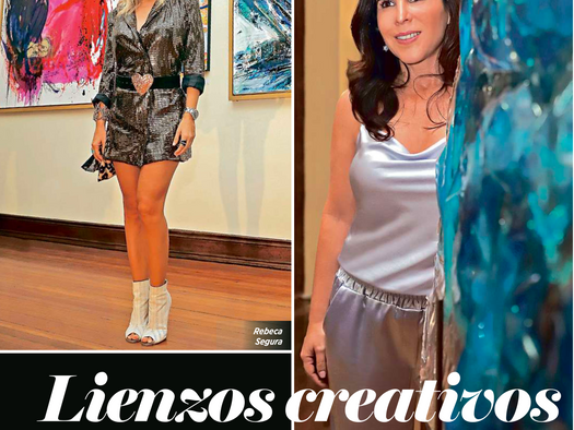 Exposición Lienzos creativos