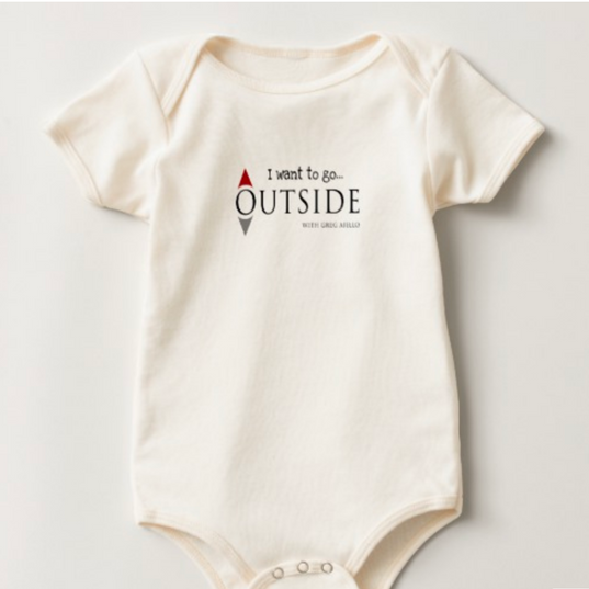 Outside Baby Bodysuit