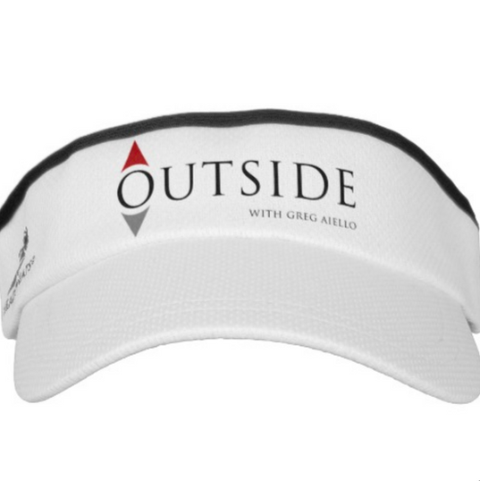 Outside with Jeff's Visor