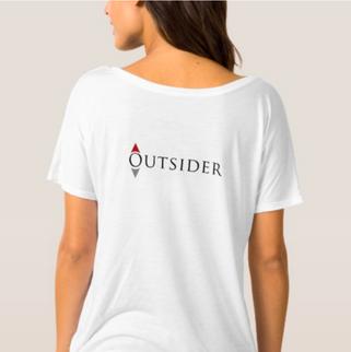 Outsider Women's boyfriend Tee