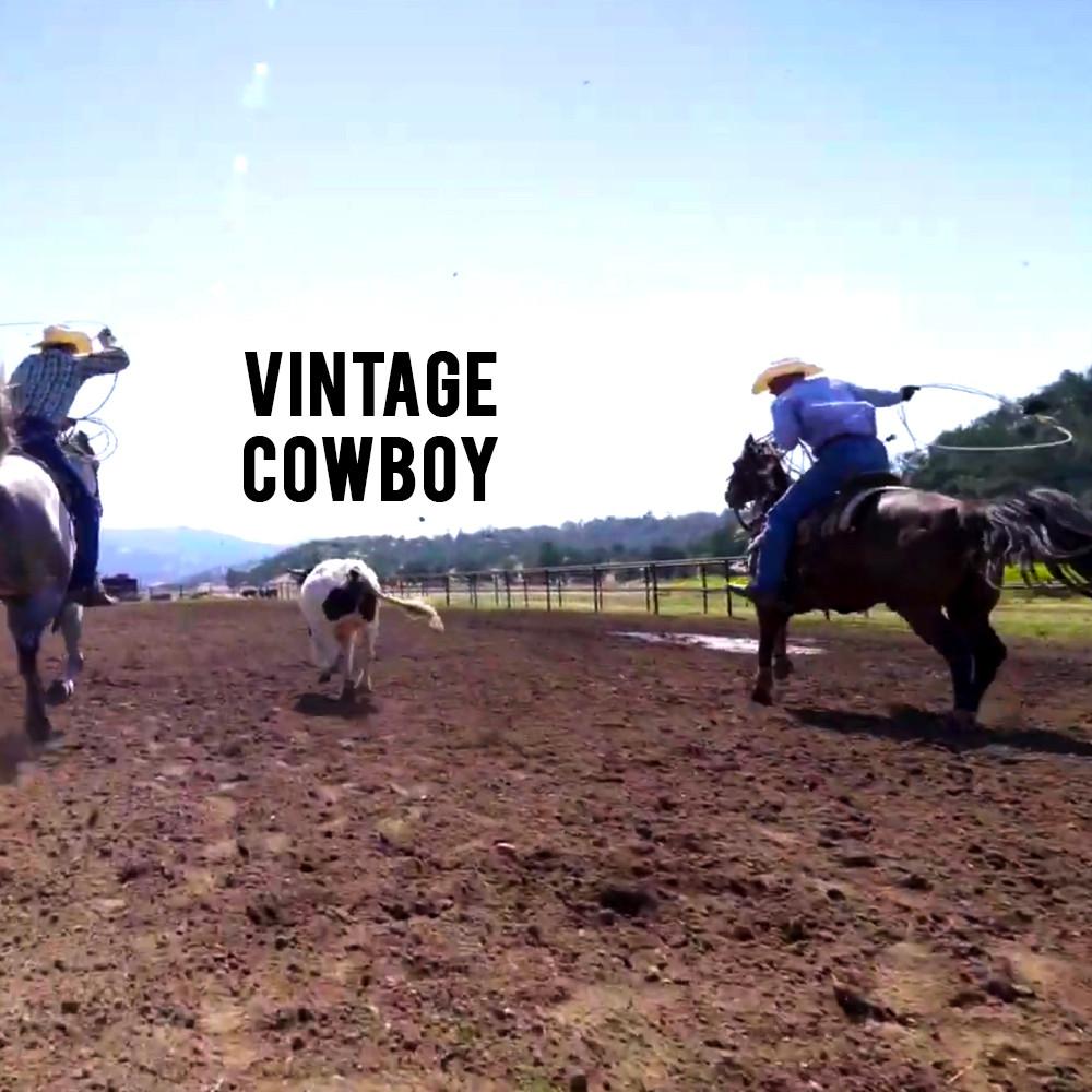 American Grown My Job Depends on Ag - Vintage Cowboy