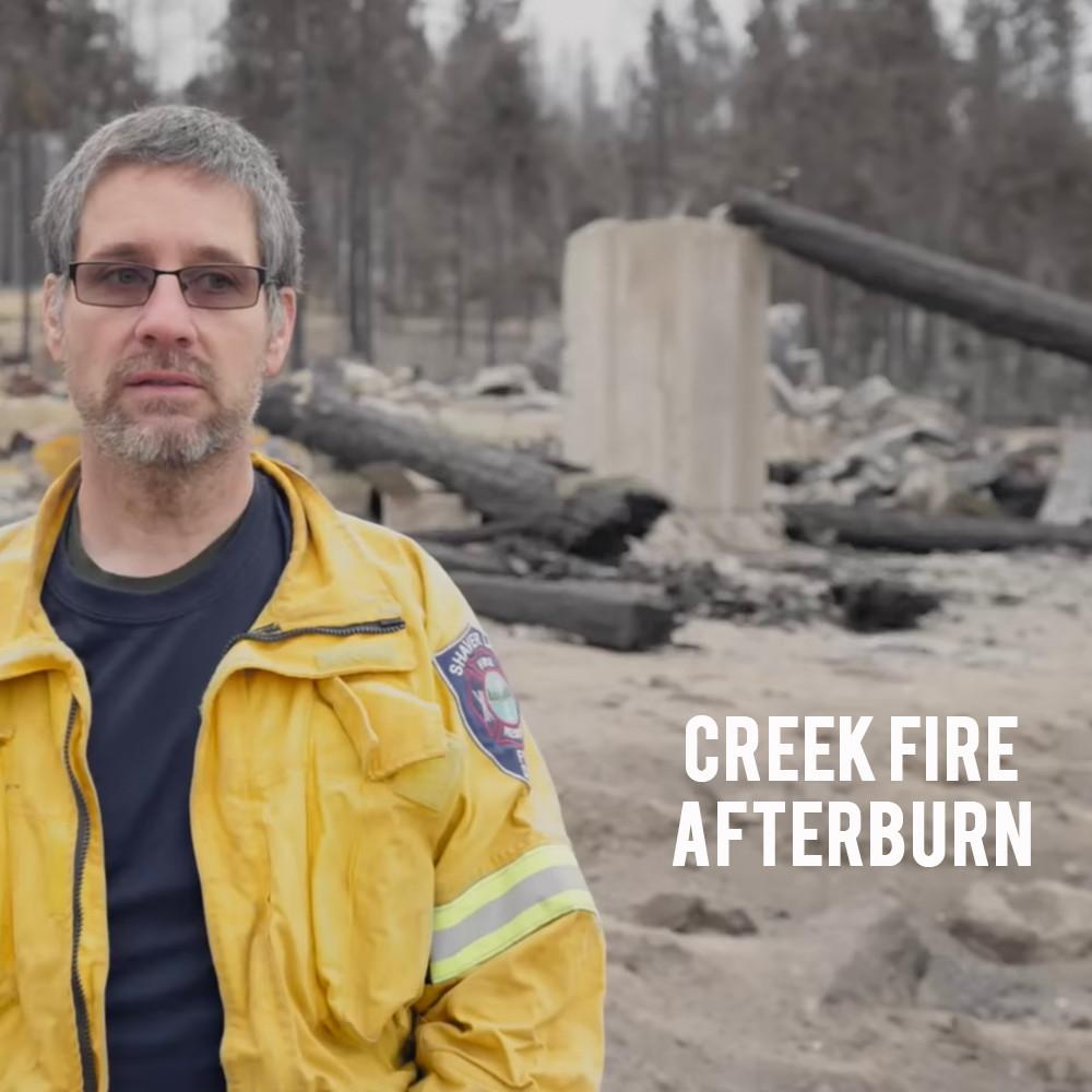 Creek Fire - Afterburn