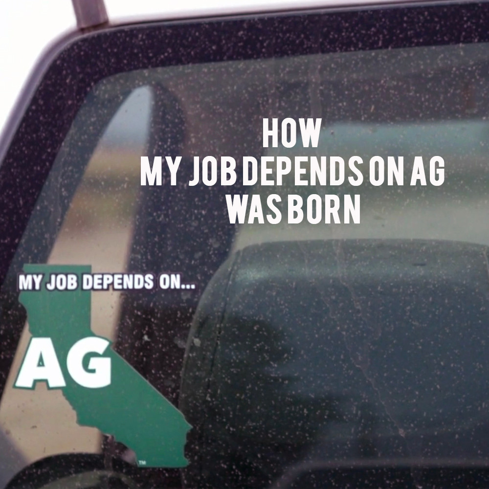 American Grown: My Job Depends on Ag - How MJDOA was born