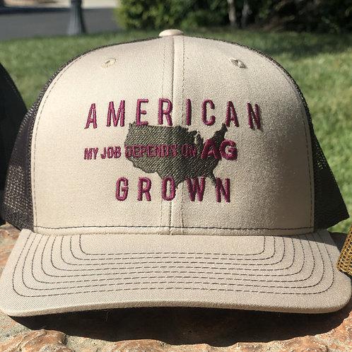 American Grown: MJDOA Khaki Snap Back