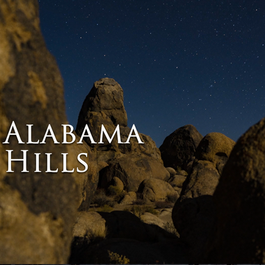 Outside Beyond the Lens - Alabama Hills