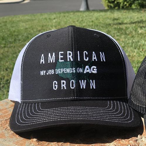American Grown: MJDOA Black Snap Back