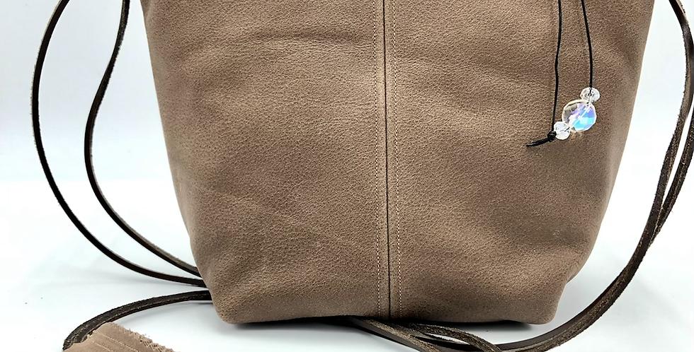 Mocha Bucket Bag