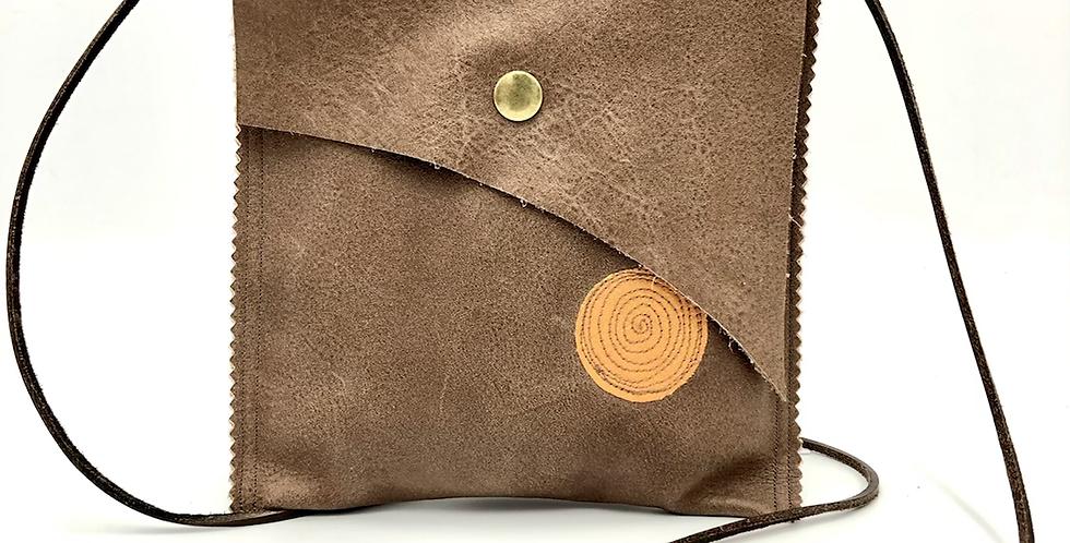 Mocha Small Satchel Bag