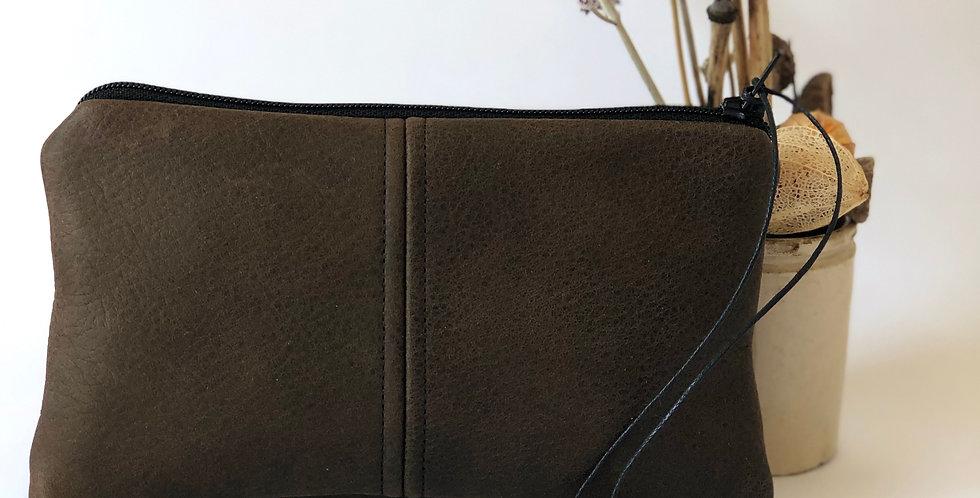 Cocoa Leather Purse