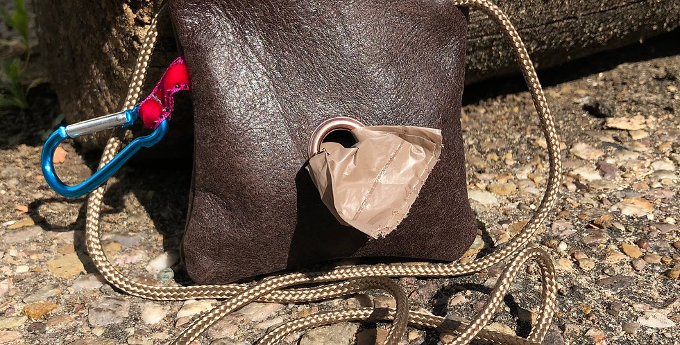 Pooch Pouch with strap and carabiner