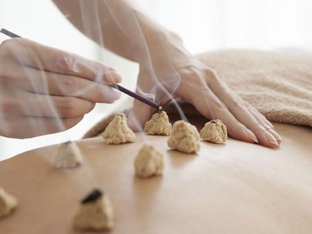 Moxibustion - Moxa Therapie